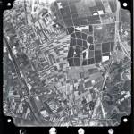 Luchtfoto van Malden, Molenhoek en het Maas-Waal kanaal. Rechts onder het midden de Kuil tussen Malden en Molenhoek, destijds een boomgaard. Foto Nr. SB46SIINo152 Copyright: Kadaster.