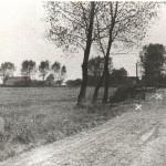 Voorpost op de Gaskampsestraat te Overasselt. Op het einde van de weg de melkfabriek. Foto 024