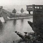 In 1940 ging in de vroege morgen de Maldense brug met een geweldige klap de lucht in, opgeblazen door Nederlandse militairen. Foto 130