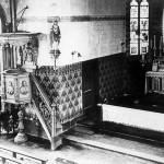 Interieur R.K. Kerk, afgebroken in 1960.