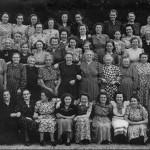 Katholieke Arbeiders Vrouwen (nu Gelderse Katholieke Vrouwenbeweging) naar Rhenen, 21 juli 1949.