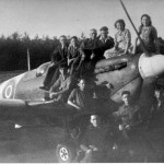 Spitfire op B-91. Foto 135