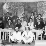 Toneelvereniging 'Steeds Hoger' in 1973.