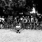 Wielrenners vereniging 'De Pedaleurs' uit Malden in 1981.