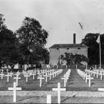 Tijdelijke Amerikaans kerkhof achter van de Broek (brouwerij) van 1944 – 1949.