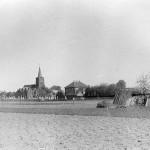 De kerk van Malden in 1940.